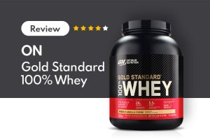 optimum nutrition (on) 100 whey protein powder review