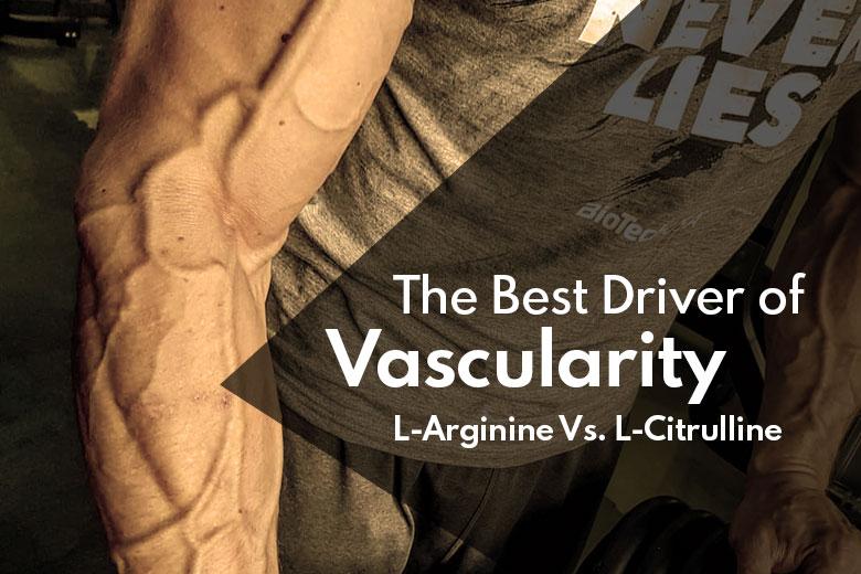 The Best Driver of Vascularity Supplement L-Arginine Vs. L-Citrulline