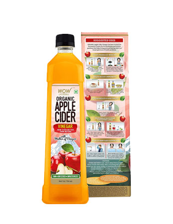WOW Life Science Organic Apple Cider Vinegar Review