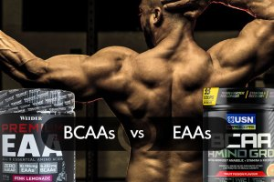 BCAAs Vs. EAAs: What is the Right Choice for Big and Strong Muscles?