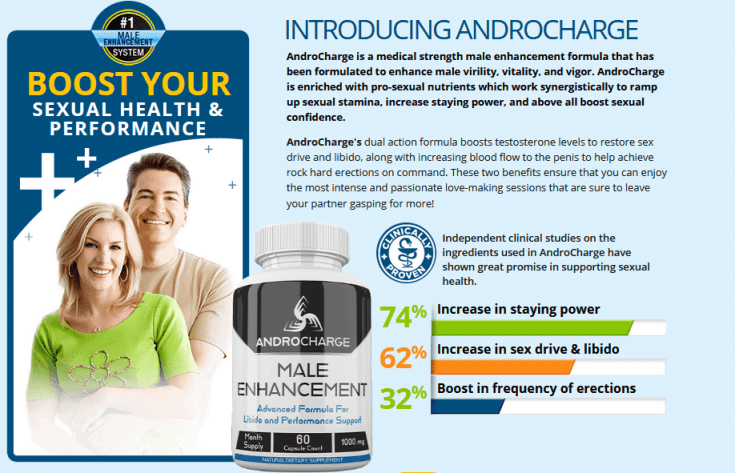Declining sexual wellness is a real truth that we want to control eventually. In this Androcharge Male Enhancement Reviews.