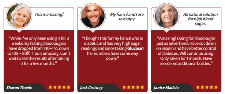 Glucose1 Customer Review