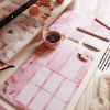 Supplied by Lily Desk Note Pad in Luxurious Rose Quartz