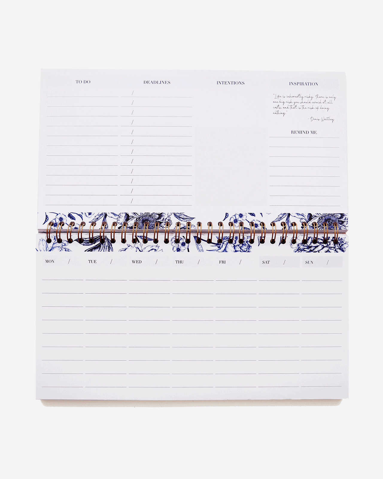 Supplied by Lily Desk Planner