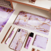 Supplied by Lily Desk Planner in Luxurious Amethyst