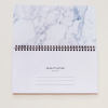 Student Desk Planner in Luxurious Marble