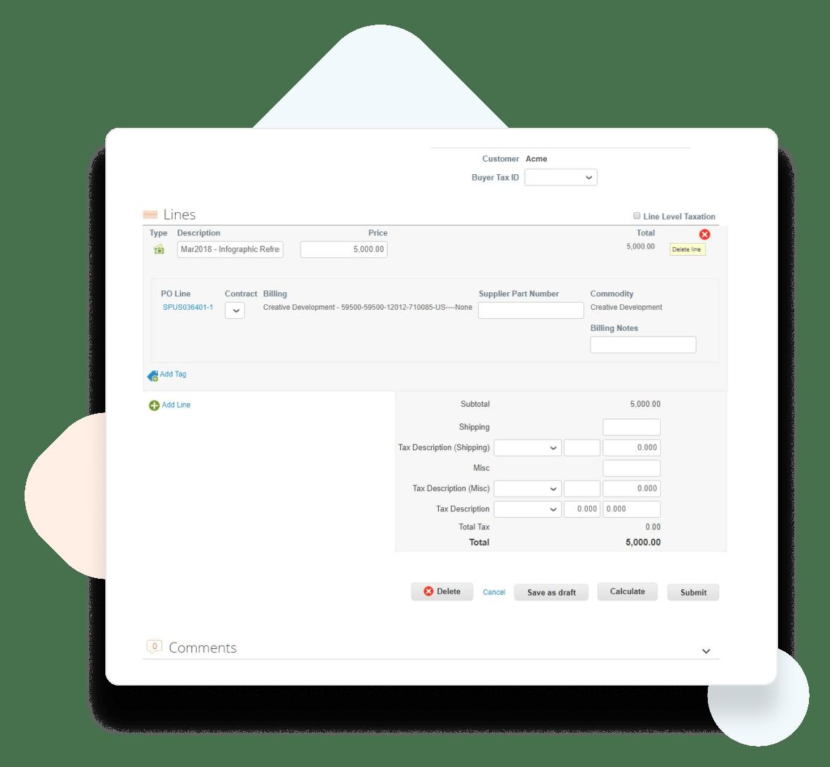 Create An Invoice Credit Memo