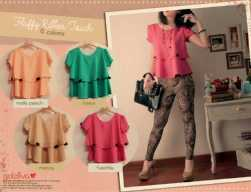 Fluffy Ribbon Touch • @51 • seri4pcs Rp178rb • silk+furing • fit to L