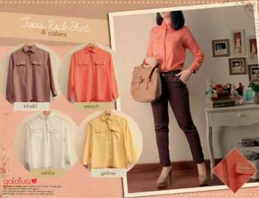 Texas Rock Shirt • 54rb • seri4pcs Rp190rb • catton tissue