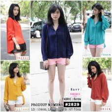 2829 bahan rayon fit to XL - ecer @63rb - seri 5wrn 285rb