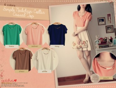 Simple Neck Chain - ecer@54 - seri6w 288rb - twistcone