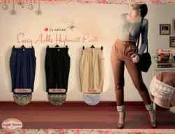 Lacey Ankle HW Pants - ecer@62 - seri4w 224rb - katun stretch