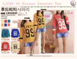SWEATER LIKE99 - ecer@50rb - seri6w 270rb - bahan babytery - fit to xl