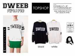 DWEEB Sweater - ecer@55 - seri4pcs 200rb - bahan Babyterry fit to XL (Tophsop lookalike)