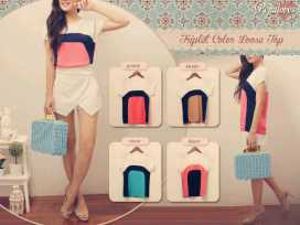 PP158 - ecer@52rb - seri4w 164rb - fit to L - bahan twiscone