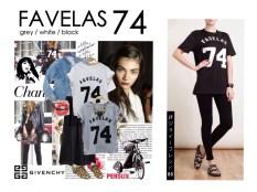 Givenchy Favelas 74 - ecer@38rb - seri3w 99rb - bahan Kaos - fit to XL