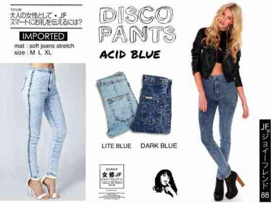 IMPORT - Disco Pants - ecer@130rb - seri3uk(M-L-XL) 375rb - Jeans Stretch