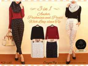 CP140 - ecer@87rb - seri4w 324rb - rayon+spandex - fit to L