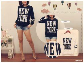 BIG NY Baseball Sweater - ecer@50 - seri4pcs 180rb - bhn babyterry - fit to XL