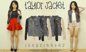 Taylor Jacket - ecer@88 - seri4pcs 328rb - jeans+wedges - fit to L