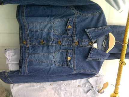 Dark Jeans Basic Jacket - ecer@80 - seri4pcs 300rb - jeans - fit to L