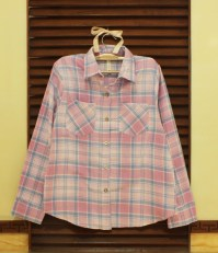 Pink Taylor Plaid - ecer@77rb - flanel - fit to L