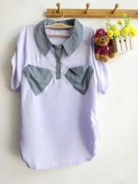 Cloudy Sleeve Shirt (Purple) - ecer@60rb - seri3w 165rb - twistcone - fit to L