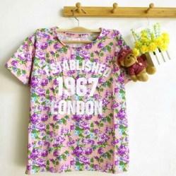 Establish 1967 Floral Top (Purple) - ecer@55rb - seri4w 200rb - wedges - fit to L