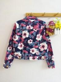 [IMPORT] Vintage Flowery Jacket (detail belakang)