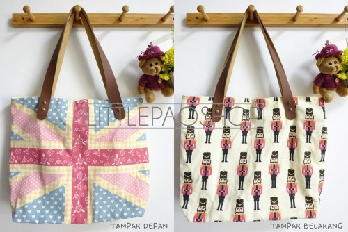Save The Queen Totebag - ecer@63rb - seri3pcs 174rb - jeans