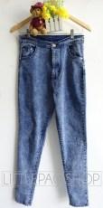 Acid Sky HW Jegging - ecer@108rb - seri4uk 412rb - jeans tebal - fit to 27-30