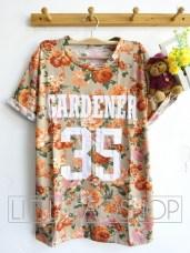 Gardener 35 Shirt(Orange) - ecer@63rb - seri4w 232rb - spandex wedges - fit to L