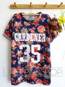 Gardener 35 Shirt(Red - ecer@63rb - seri4w 232rb - spandex wedges - fit to L