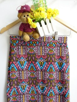 [IMPORT] Ethnic Pencil Skirt (inca) detail