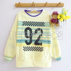 92 Rally Sweater (yellow) - ecer@60rb - seri4w 220rb - katun wol tebal - fit to L