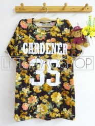 Gardener 35 Shirt(Yellow) - ecer@63rb - seri4w 232rb - spandex wedges - fit to L
