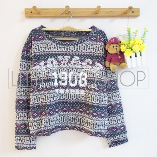 IMPORT - 1908 Voyage Tribal - ecer@90rb - seri3pcs 255rb - rajut unik+tebal - fit to L