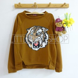 [IMPORT] ROAR Sweater (Choco) - ecer@76rb - seri3w 213rb - wedges tekstur - fit to L