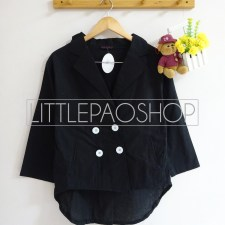 Cambridge HiLo Coat (black) - ecer@70rb - seri4w 260rb - katunbangkok - fit to L