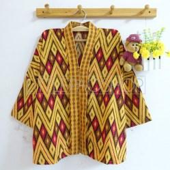 Dewantara Kimono Top (choco) - ecer@75rb - seri4w 280rb - songket - fit to L