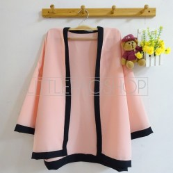 Pentatonic Kimono Outer (pink) - ecer@63rb - seri5w 290rb - twiscone - fit to L