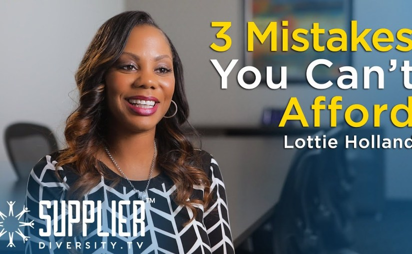 S01:E07 – Top 3 Mistakes You Cannot Afford to Make as a Diverse Supplier with Lottie Holland