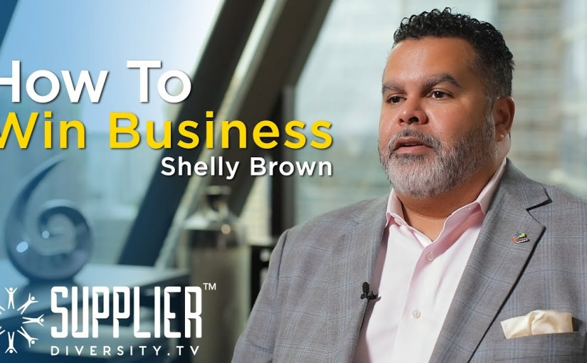S01:E12 – The Perfect Equation for Winning Business as a Diverse Supplier with Shelly Brown
