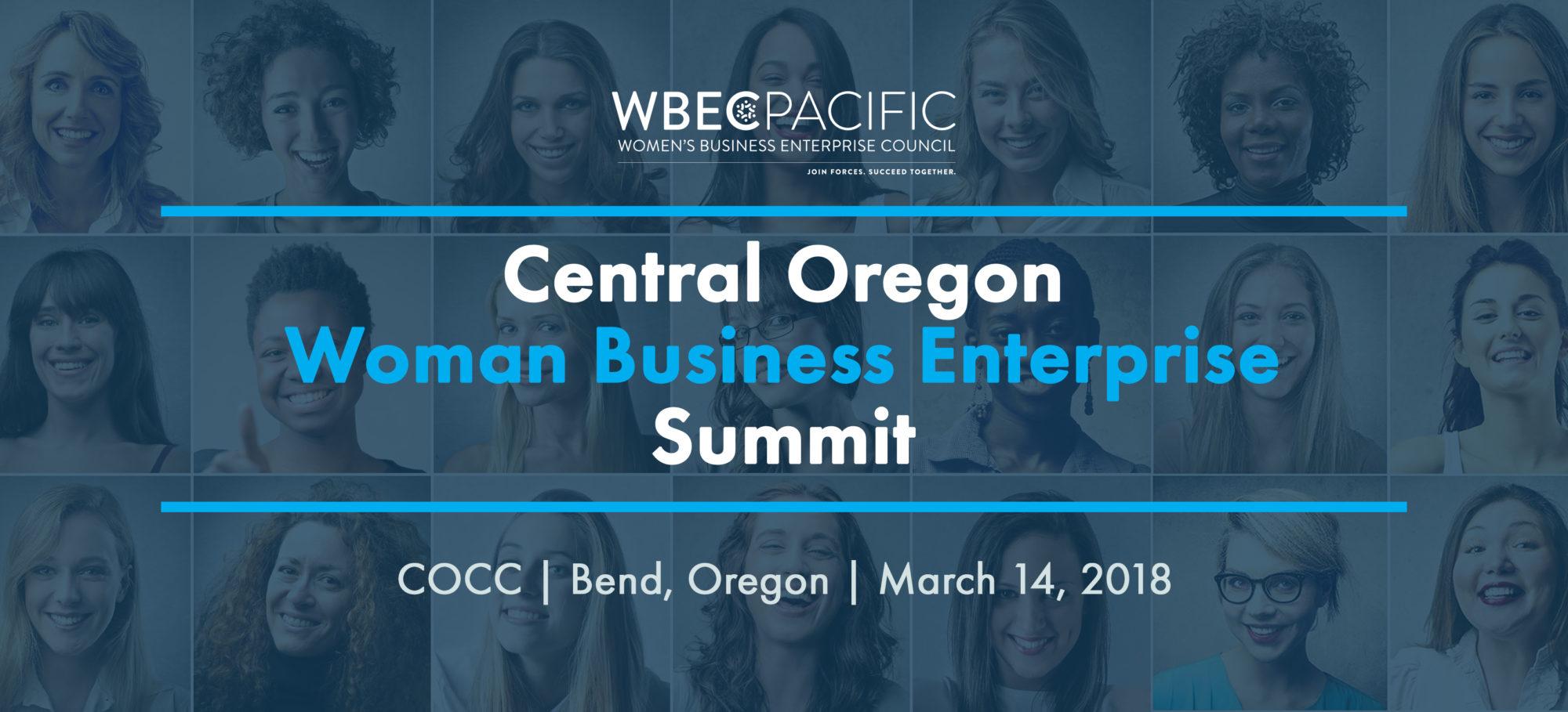 Central Oregon Women Business Enterprise Summit