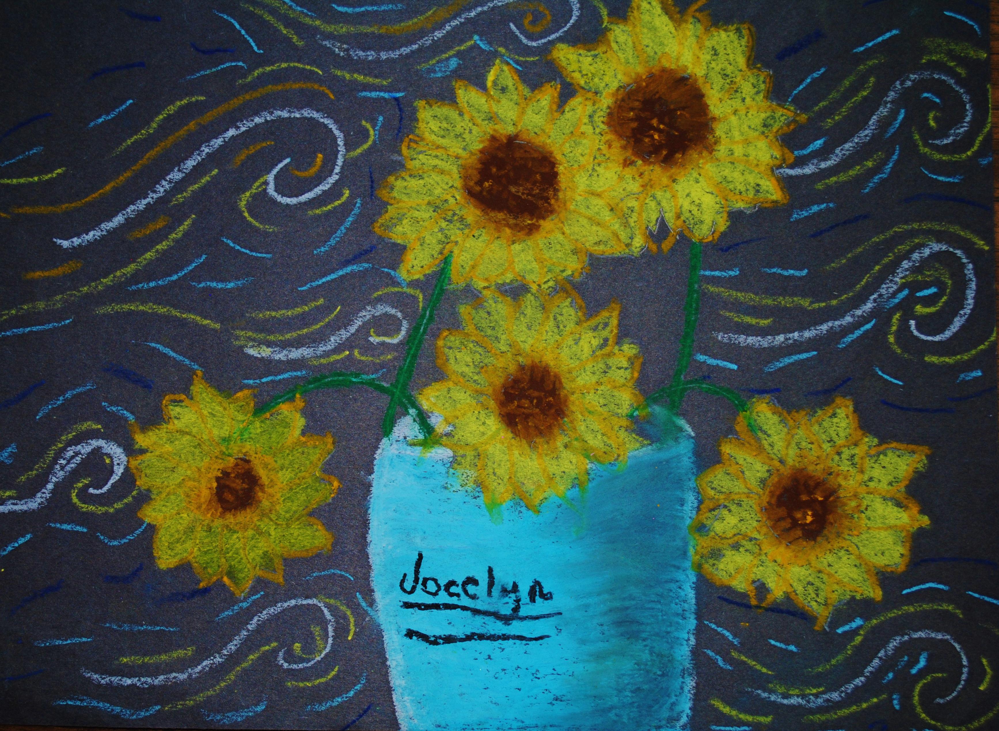 The Smartteacher Resource Van Gogh Sunflowers