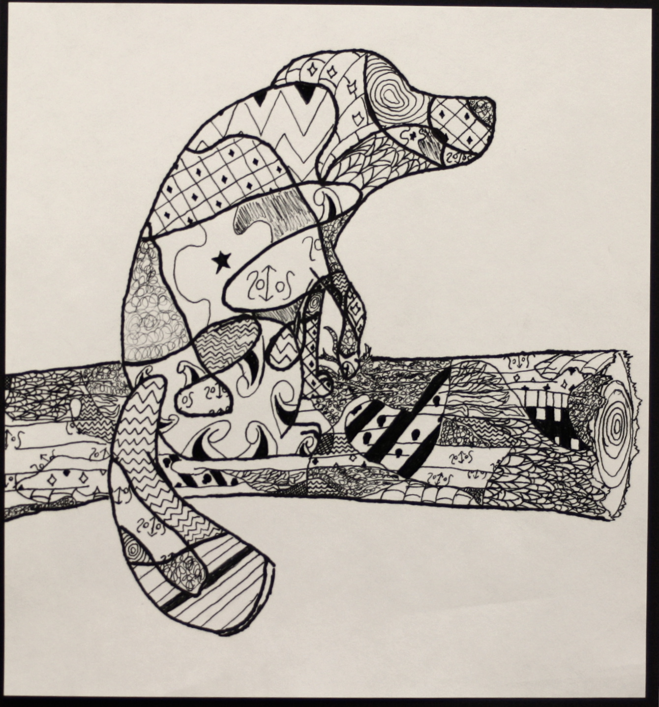 The Smartteacher Resource Zentangle Drawings