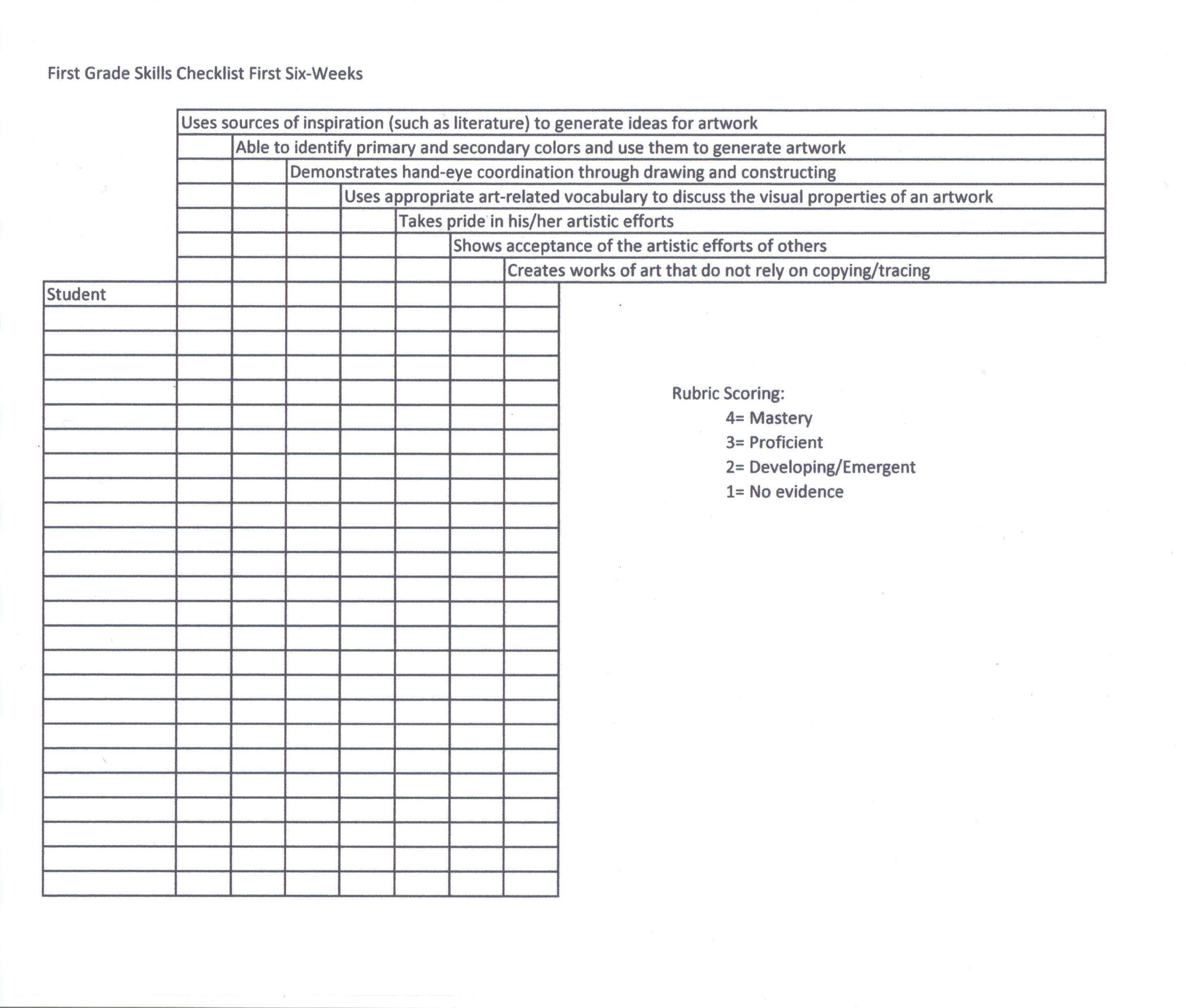 Abcd Model Worksheet