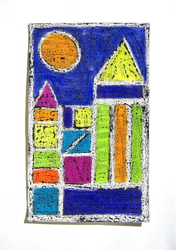 The Smartteacher Resource Cityscapes Paul Klee Inspired