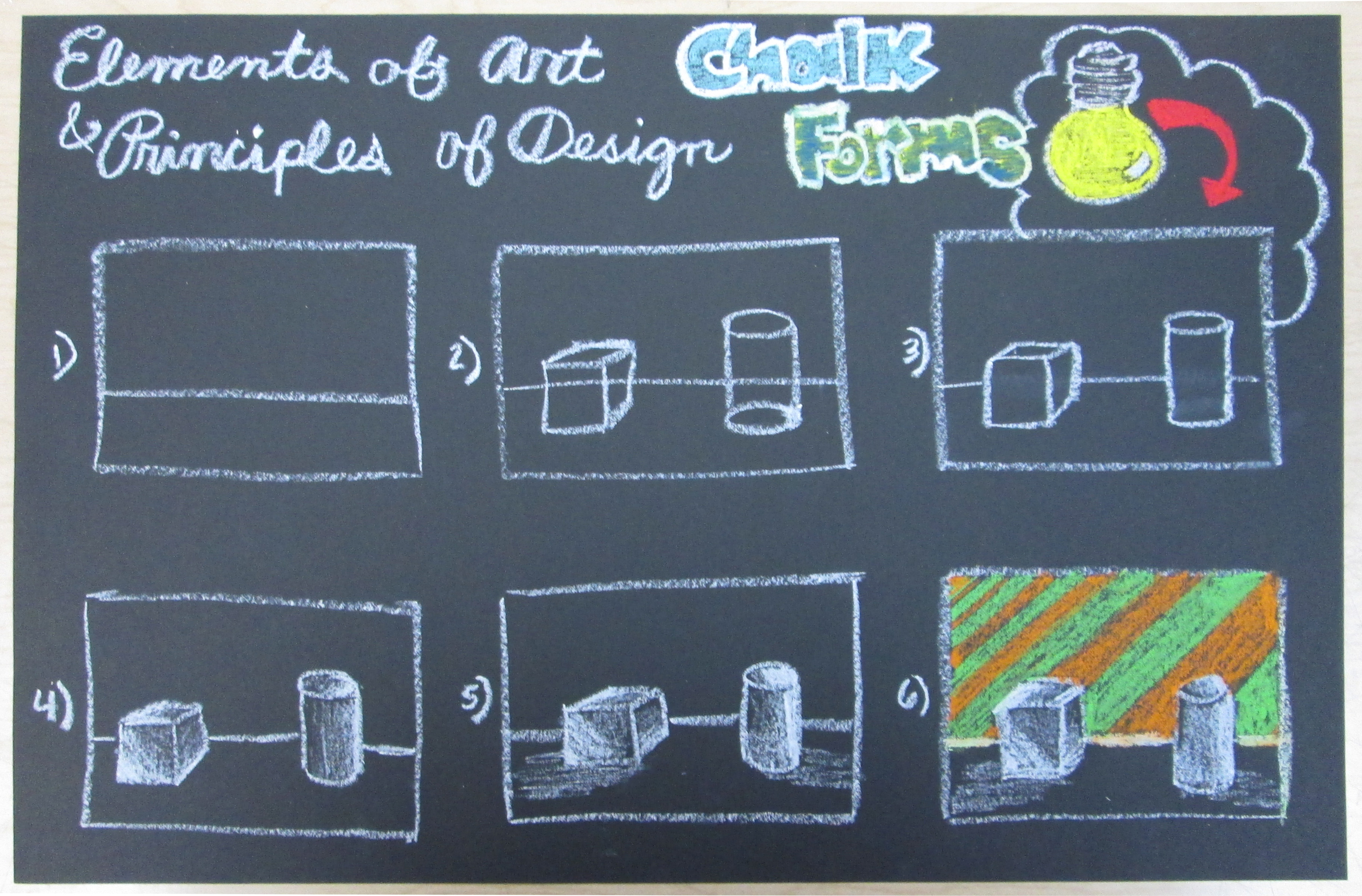 The Smartteacher Resource Chalk Forms Elements Principles
