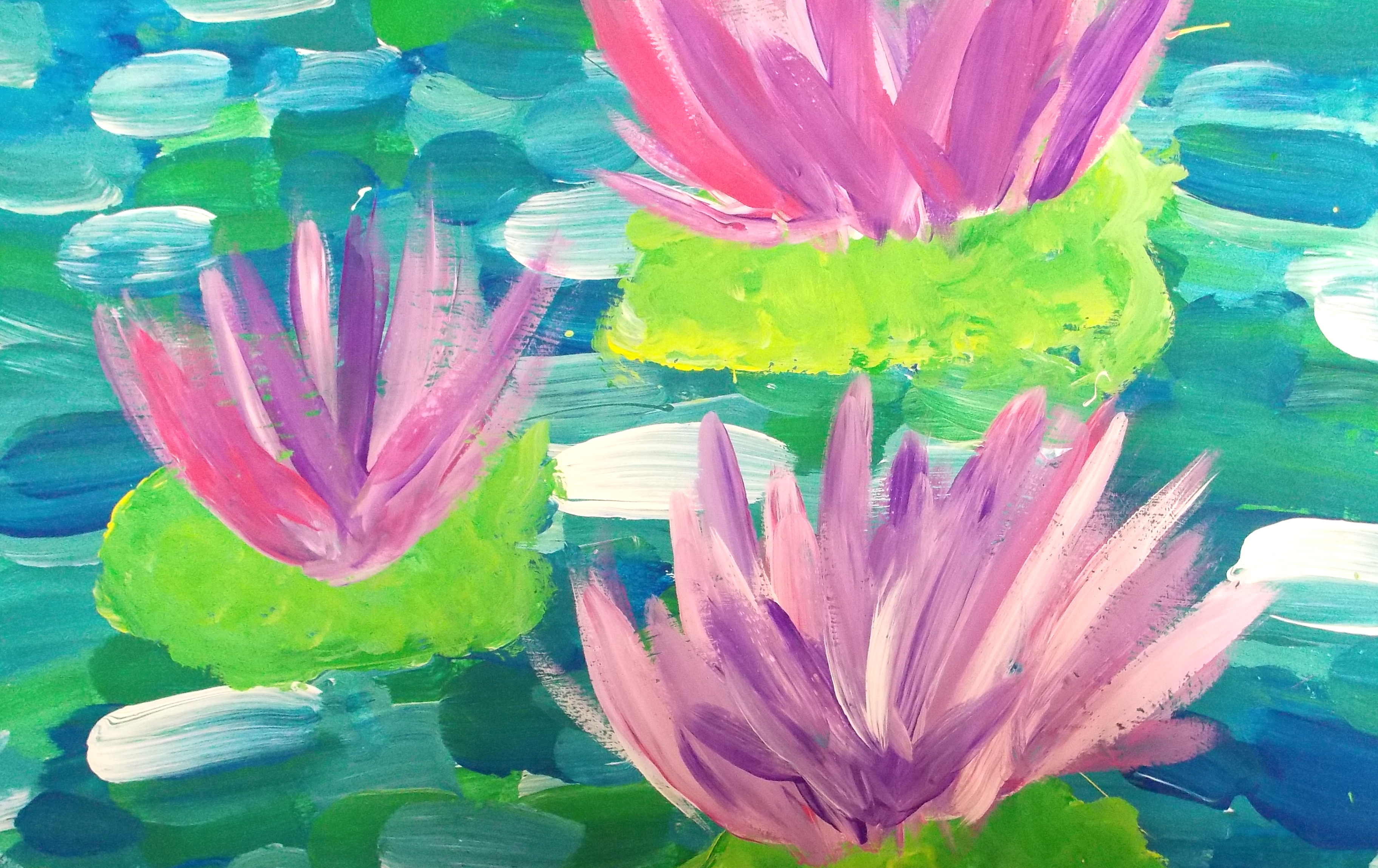 The Smartteacher Resource Monet Water Lilies